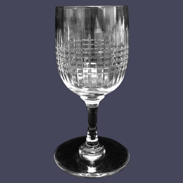 Grand verre à liqueur ou madère en cristal de Baccarat, modèle Nancy - 9,7cm