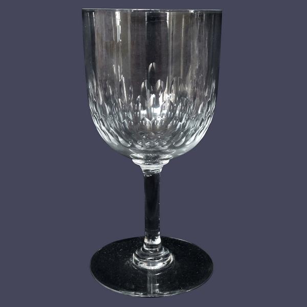 Verre à eau en cristal de Baccarat, modèle Richelieu - 15,4cm