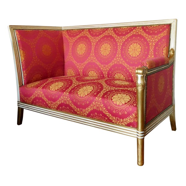 Empire living room sofa attributed to Marcion 1, early 19th century