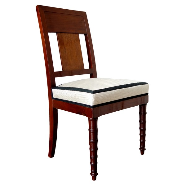 Empire mahogany chair attributed to Jacob Freres, early 19th century circa 1800