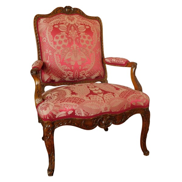Early 18th century so-called a la Reine armchair French Regency period circa 1730
