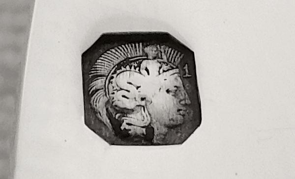 Plat ovale de style Louis XIV en argent massif par Linzeler, poinçon Minerve