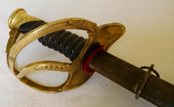 Sabre d'enfant, jouet d'époque XIXe siècle - officier d'Infanterie