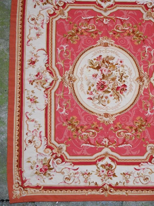 tapis d 39 aubusson de style louis xvi poque xixe napol on iii 380cm x 270cm. Black Bedroom Furniture Sets. Home Design Ideas