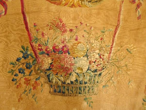 Tapisserie d'Aubusson d'époque Louis XVI : Cérès, allégorie de l'été