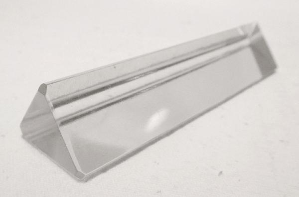 Ensemble de 6 porte-couteaux en cristal de Baccarat triangulaires