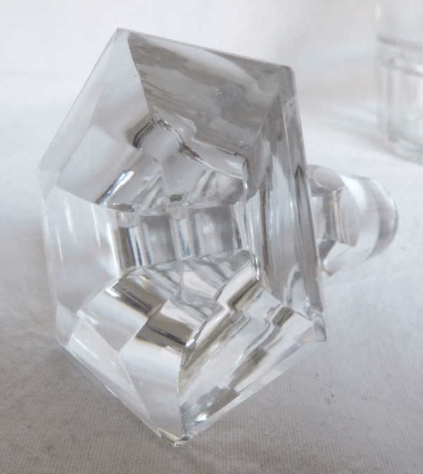 Carafe à cognac / carafe à whisky en cristal de Baccarat