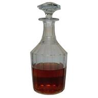 Carafe à vin / cognac / whisky en cristal de Baccarat, époque Napoléon III