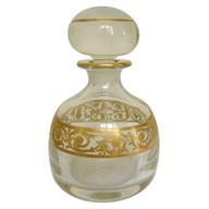 Flacon à parfum en cristal de St Louis, modèle Thistle - signé - 14cm