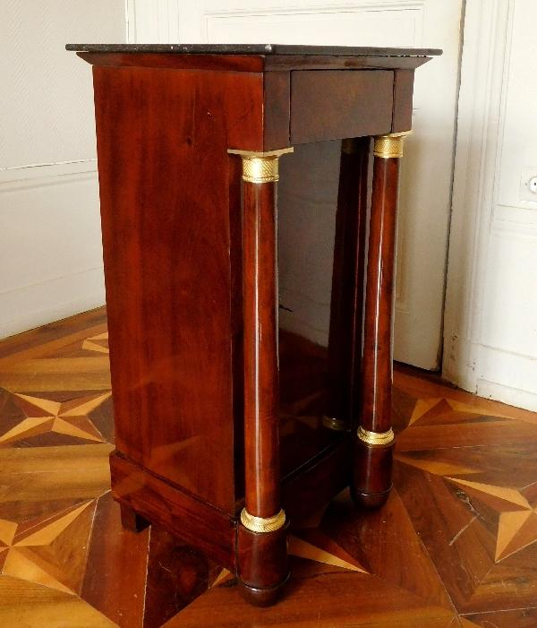 Table de chevet d'époque Empire   Selency