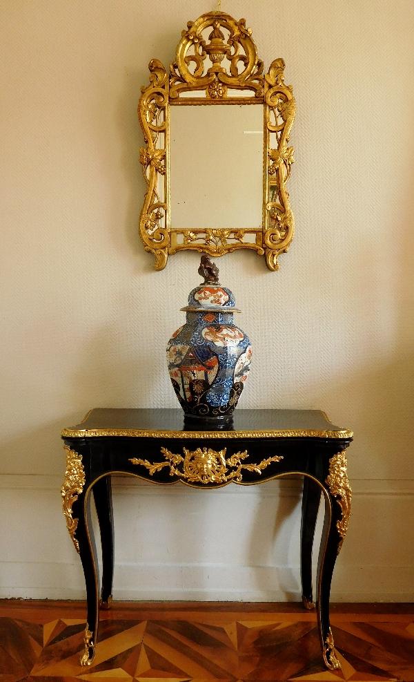 Miroir en bois doré, travail provencal d'époque Louis XV - Transition 96cm x 60cm