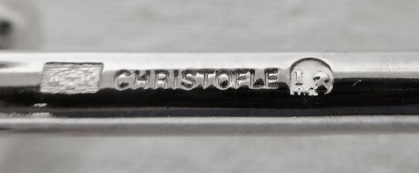 Porte-couteau en métal argenté, Christofle