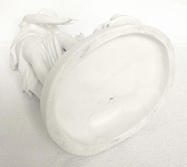 Paire de biscuits de porcelaine