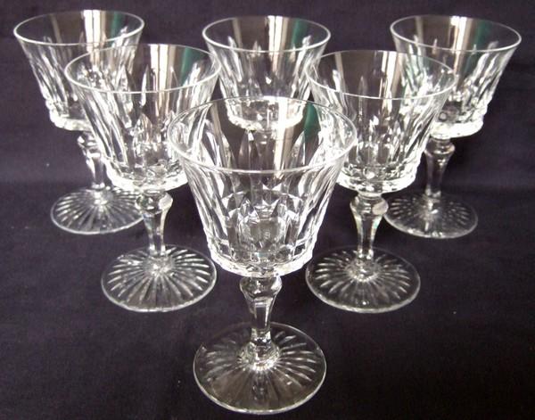 verre vin en cristal de baccarat mod le buckingham 12 8cm sign. Black Bedroom Furniture Sets. Home Design Ideas