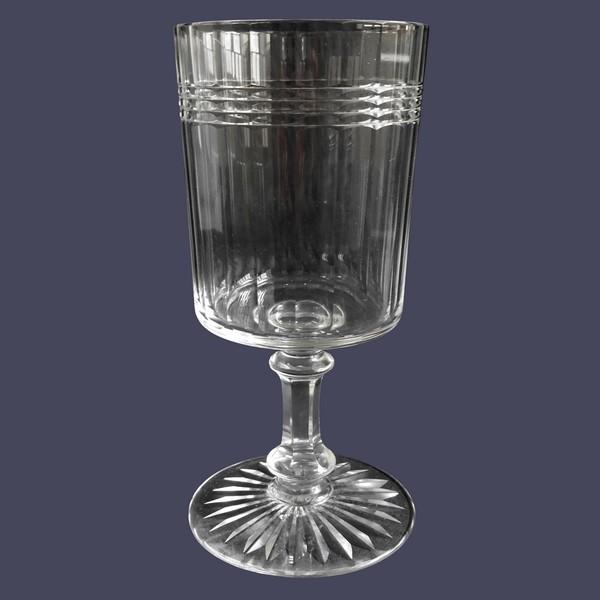 Verre à eau en cristal de Baccarat, modèle Chicago version luxe - 15cm