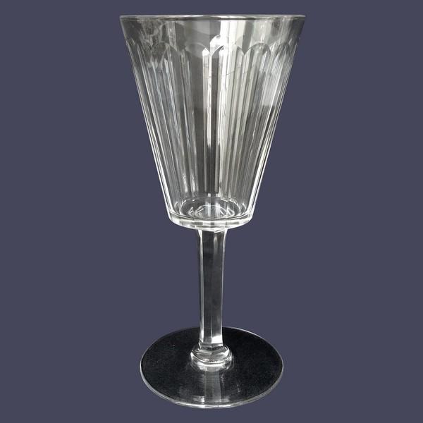 Verre à eau en cristal de Baccarat, modèle Chicago - 17,5cm