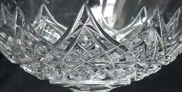 Coupe en cristal de Baccarat, modèle Colbert