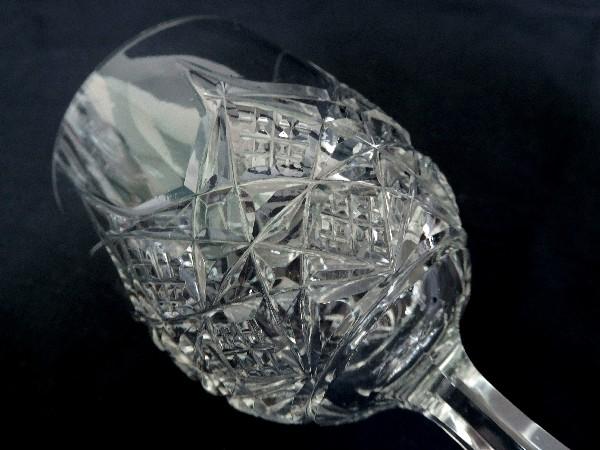 Verre à vin en cristal de Baccarat, modèle Colbert - 12,8cm