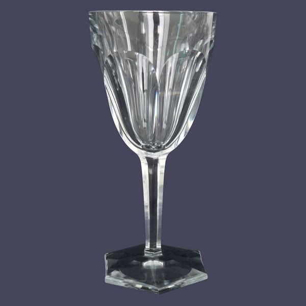 Verre à vin en cristal de Baccarat, modèle Compiègne - 14,2cm