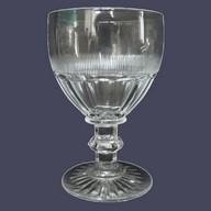 Verre à vin blanc ou à porto en cristal de Baccarat, époque XIXe - 10cm