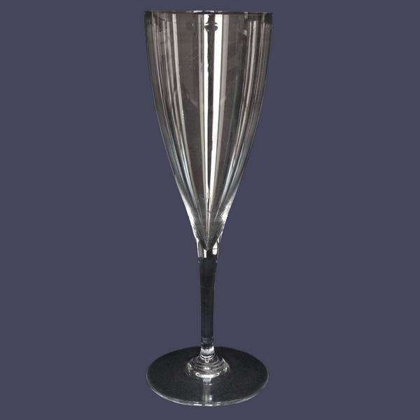 Verre à eau en cristal de Baccarat, modèle Dom Perignon - 22,6cm - signé