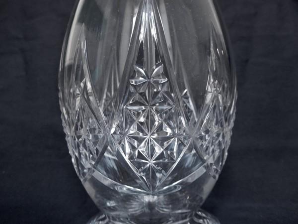 Carafe à vin en cristal de Baccarat, modèle Epron - 36cm