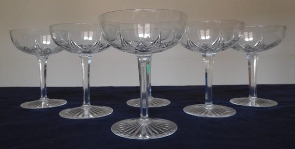 à champagne en cristal de Baccarat, modèle Epron