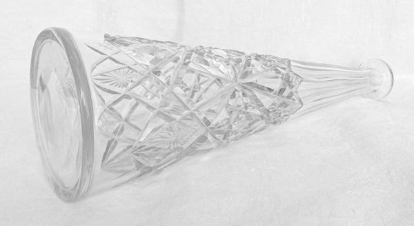 Carafe à vin du Rhin en cristal de Baccarat, modèle Lagny