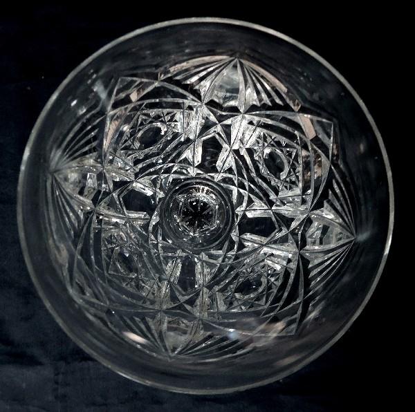 Verre à eau en cristal de Baccarat, modèle Lagny - 18,3cm - signé