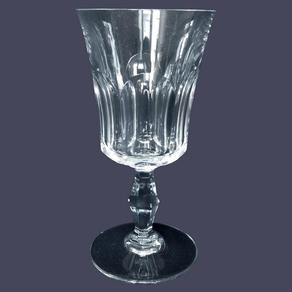 Verre à eau en cristal de Baccarat, modèle Lauzun - 17,4cm - signé
