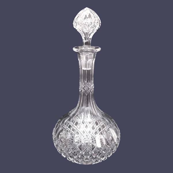 Carafe à eau en cristal de Baccarat, modèle Libourne (modèle GG) - 30,5cm