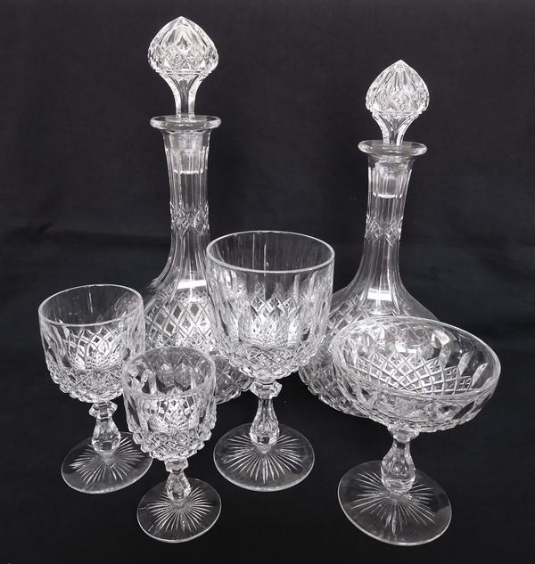 Verre à vin blanc / porto en cristal de Baccarat, modèle Libourne (modèle GG) - 10,5cm