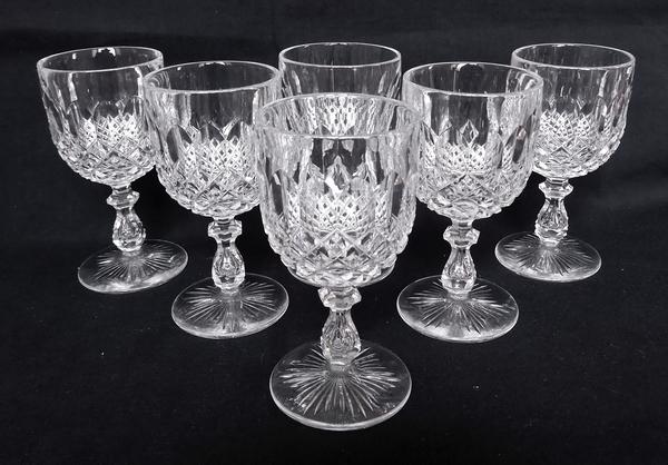 Verre à eau en cristal de Baccarat, modèle Libourne (modèle GG) - 16cm