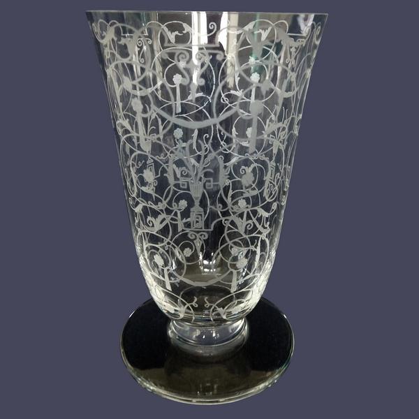 Flûte à champagne en cristal de Baccarat, modèle Michelangelo (Michel Ange)