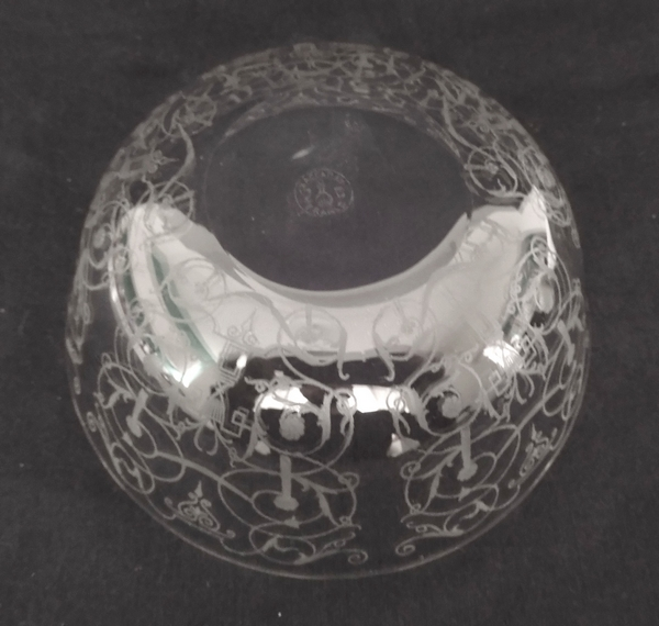 Coupe / ramequin en cristal de Baccarat, modèle Michelangelo (Michel Ange)