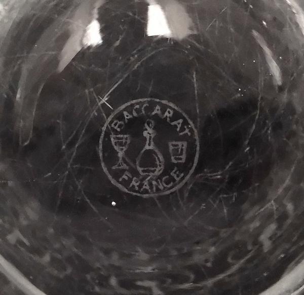 Vase en cristal de Baccarat, modèle Michelangelo (Michel Ange)