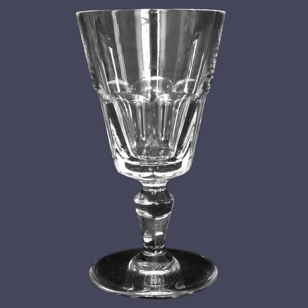 Verre à eau en cristal de Baccarat, modèle Missouri - signé - 14,5cm