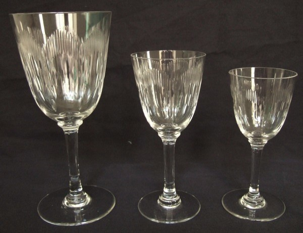Verre vin en cristal de baccarat mod le moli re 13 3cm - Prix verre en cristal ...
