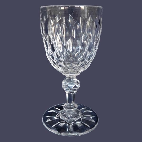 Verre à vin blanc / porto en cristal de Baccarat, modèle Nîmes (variante de Juvisy)