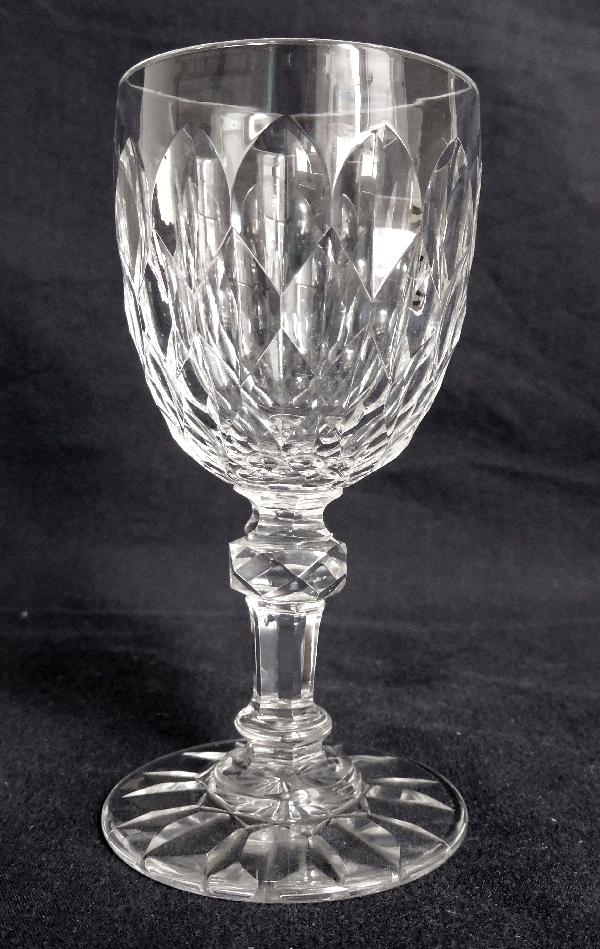 Verre à eau en cristal de Baccarat, modèle Nîmes (variante de Juvisy) - 16,3cm