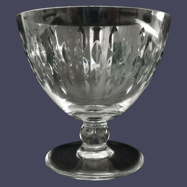 Verre à eau en cristal de Baccarat, modèle Paris - 9,6cm - signé