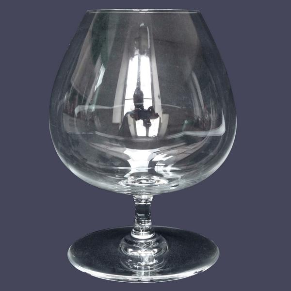 Grand verre à cognac en cristal de Baccarat, modèle Perfection / Oenologie - signé