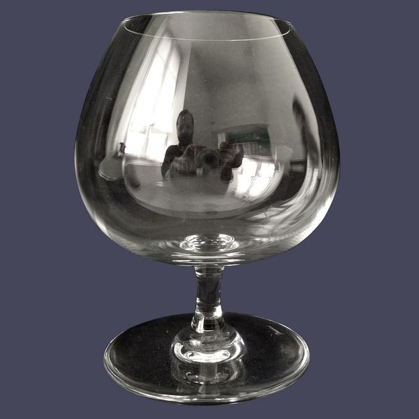Verre à cognac en cristal de Baccarat, modèle Perfection / Oenologie - signé