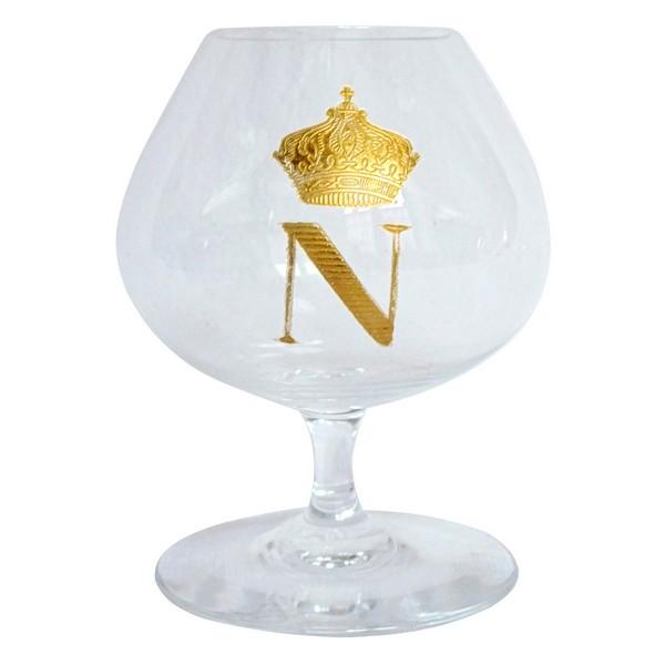 Verre à cognac en cristal de Baccarat, modèle Perfection Napoléon - signée