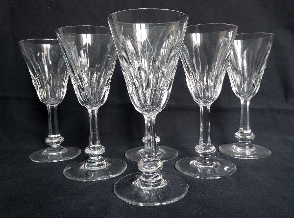 Verre à porto ou verre à vin blanc en cristal de Baccarat, modèle Picardie - signé - 12,2cm