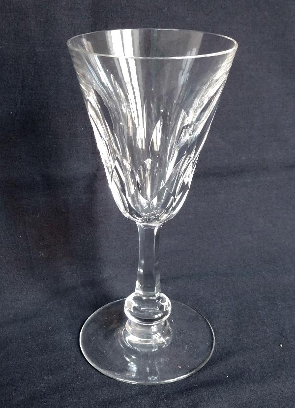 Verre à eau en cristal de Baccarat, modèle Picardie - signé - 17,8cm