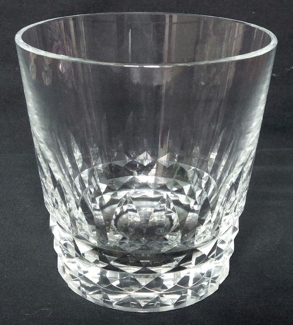 Seau à glace en cristal de Baccarat, modèle Piccadilly - signé