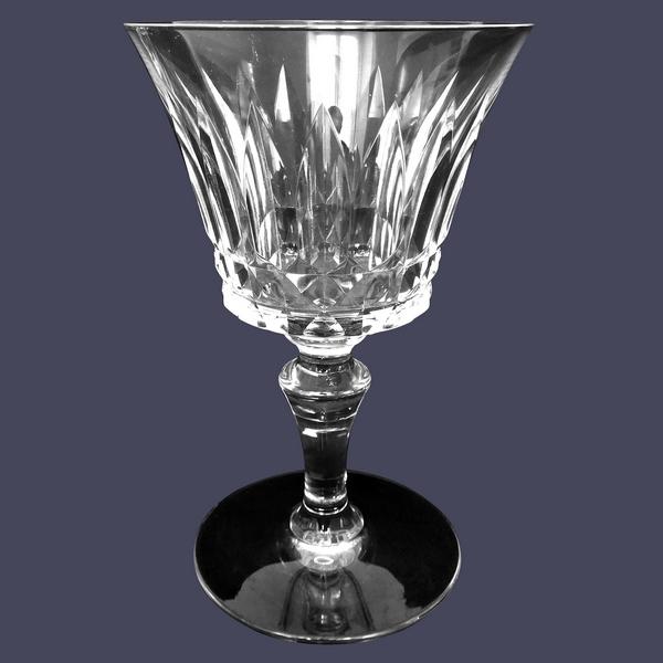 Verre à eau en cristal de Baccarat, modèle Piccadilly - signé - 15,5cm