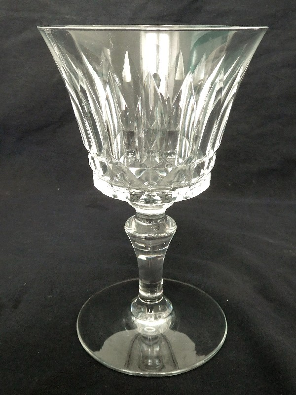 Verre à vin en cristal de Baccarat, modèle Piccadilly - signé - 14cm