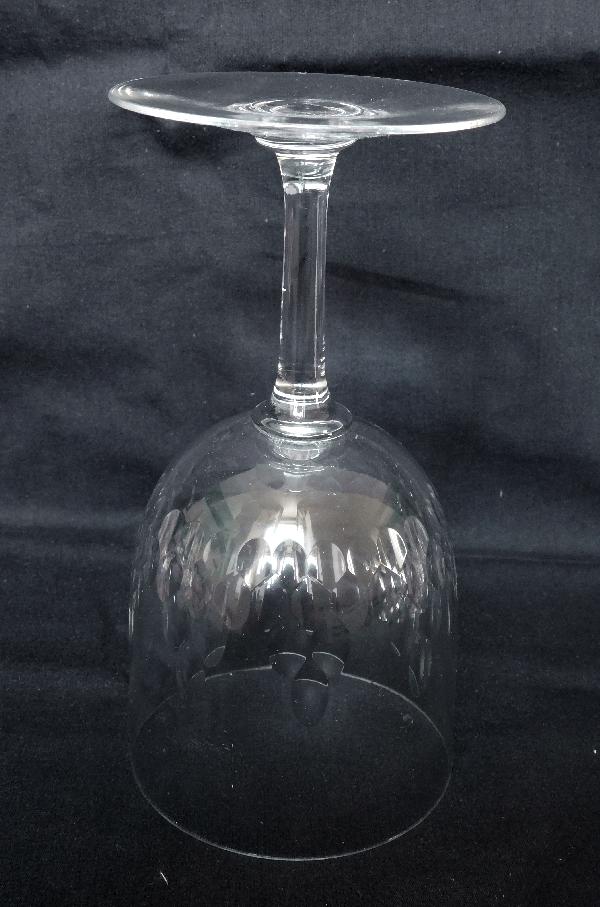 Verre à porto en cristal de Baccarat, modèle Richelieu - 10,4cm